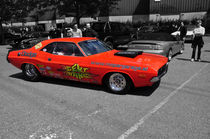 Dodge Challenger Dragster Colorkey von Mark Gassner