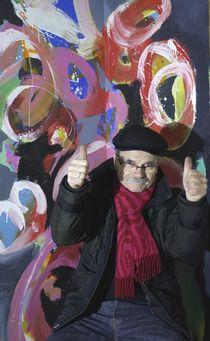 das Glück der Malerei by Reiner Poser