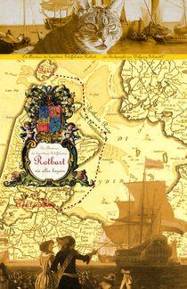 Rotbartsaga Poster (illustrierte Seekarte) von Wolfgang Schwerdt