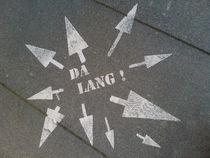 Da lang! - As long! von Henning Hollmann