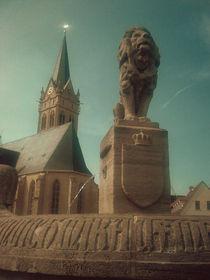 Kirchhof Lucka by Henning Hollmann