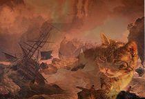 Schiffbruch vor Sumatra von Wolfgang Schwerdt