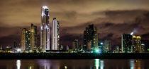 Skyline Panama At Night by tapinambur