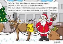 Weihnachtskarte Ungezogener Hund von Daniel Sänger