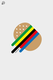 Fastfood -The Worldcup Burger- von zyclism