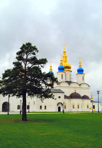Russian orthodox cathedral Tobolsk von Roman Popov