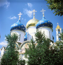 Assumption Cathedral in the Trinity-Sergius Lavra von Roman Popov