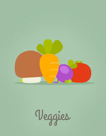 Veggies by jane-mathieu