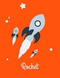 Rocket orange by jane-mathieu