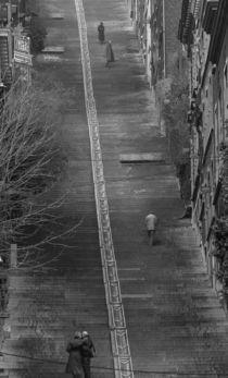 Abschied auf der Treppe von Erik Müller