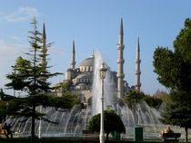 Day View Sultan Ahmed Istanbul von Simon Dunn