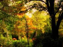 Herbstgemälde von Ulrike Ilse Brück