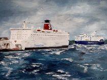 Fährschiffe Stena Line und Color Magic von Bärbel Knees