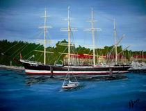 Segelschulschiff Passat von Bärbel Knees