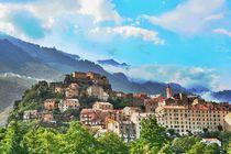 Universitätsstadt Porto/ Korsika/ Frankreich von Simon Dunn