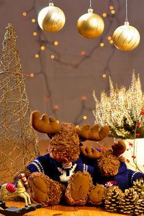 Reindeer at Chrismas von 7horses