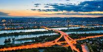 Vienna Sunset von Michael Abid