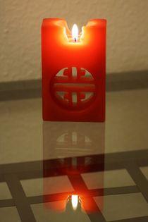 Rote Kerze von lewin