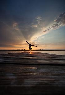 sunset splits by Alex Koch