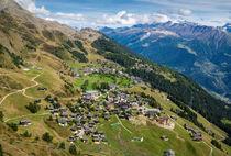 Riederalp Wallis Schweiz von Matthias Hauser