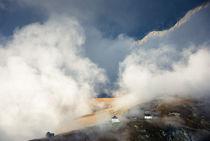 Schweiz Berge und Wolken Aletschbord Belalp von Matthias Hauser
