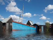Flood at Walberswick von Bill Simpson