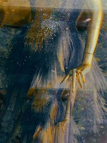 Blue dress by Gabi Hampe