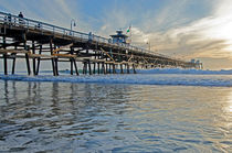 San Clemente Pier by Jean Booth