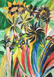 Trauerblumen / Mourning flowers von Claudia Juliette Dittrich