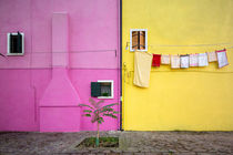 Farbenspiel auf Burano von Andreas Müller