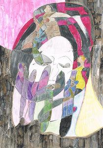'Maske / Mask' von Claudia Juliette Dittrich