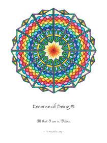 Essence of Being Mandala #1 w/msg by themandalalady