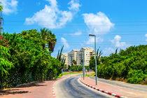 View of Tel Aviv street by slavamalai