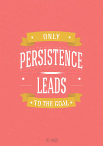 Only persistence leads to the goal by Pavel Shimansky