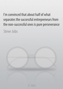 Inspirational quote by Steve Jobs von Pavel Shimansky