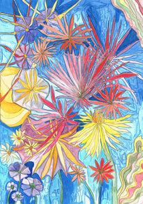 Eisblumen / Frost pattern von Claudia Juliette Dittrich