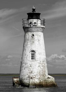 The Cockspur Lighthouse by O.L.Sanders Photography