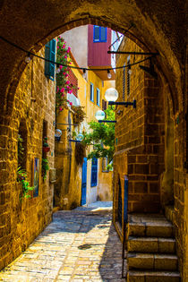 The old narrow small streets  von slavamalai