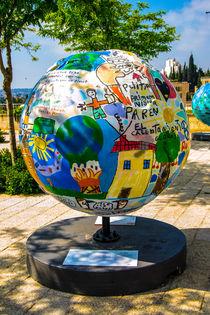Globe statue   by slavamalai