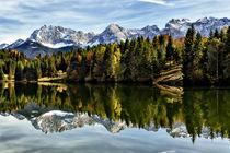 Mirrored Mountains von Robert Freytag
