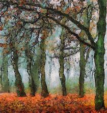 Herbstlicher-wald-abstrakt