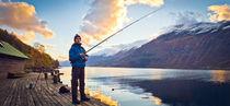 Fishing in Norway by Henrik Herr