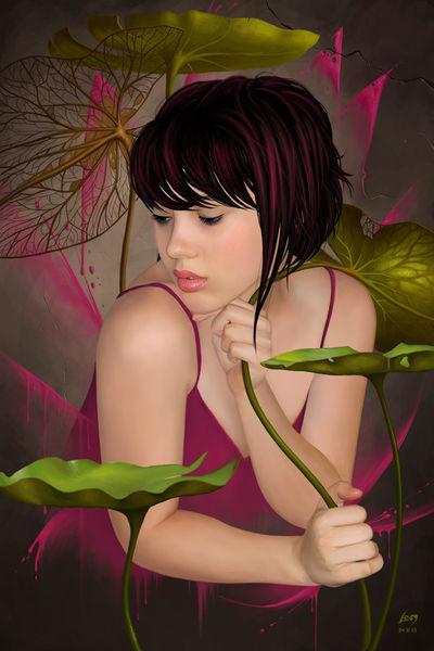 Pinkwaterflower