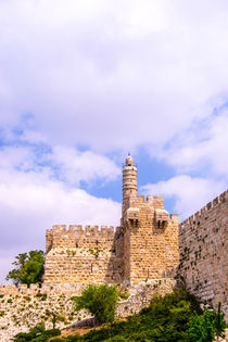 David tower .the old city Jerusalem. von slavamalai