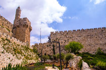 David tower .the old city Jerusalem. by slavamalai