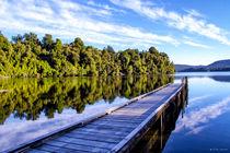 Lago Mapourika - reflection von Víctor Bautista