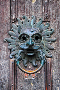 The Sanctuary Knocker von David Pringle