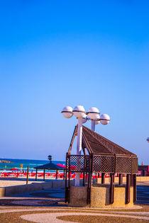 View of Tel Aviv beach  von slavamalai