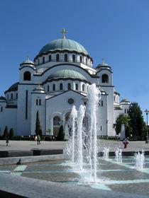 Cathedral of Saint Sava, Belgrade. von Philip Shone