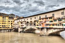The Ponte Vecchio (Florence) von Marc Garrido Clotet
